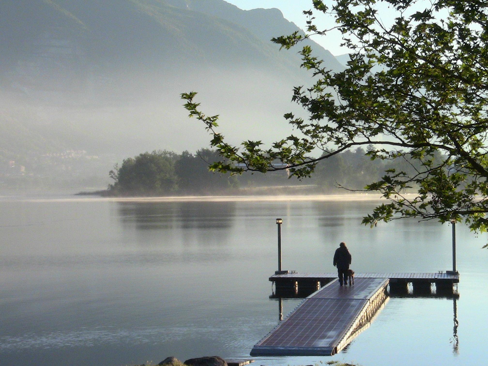 Lago di Pusiano a Casletto di Rogeno
